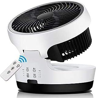 Tpdch Ventilador de Mano, Ventilador de Escritorio con silencioso y Potente Ventilador de Cabeza agitadora de circulación de Aire Turbo, Adecuado para Estudiantes en casa