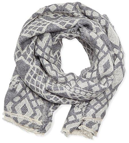 Opus Damen Ann scarf Schal, Grau (Pale Grey 8033), One size (Herstellergröße: 0)