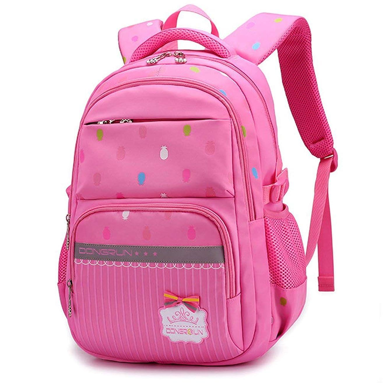 以来独立してチート女の子のためのプライマリスクールバッグバックパック7-12歳の防水ナイロンラップトップバッグ20-35L