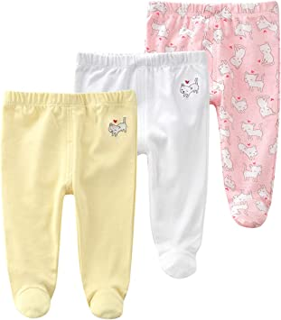 TONE Baby Leggings Trousers Pants for Baby Boys and Girls 0-3m//3-6m//6-9m//9-12m 4-Pack 100/% Cotton