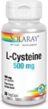 Solaray L-Cysteine Capsules, Free Form 500 mg, 30 Count