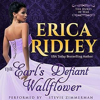 The Earl's Defiant Wallflower audiobook cover art