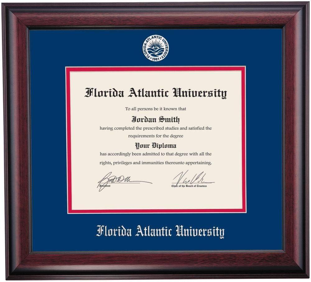 OCM DiplomaDisplay Max 61% OFF Traditional Frame for Atlantic Sale Univer Florida