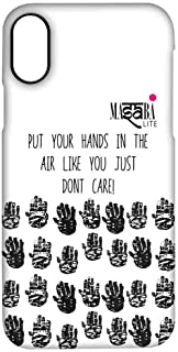 Macmerise IPCIPXPMS1248 Masaba Hands Up - Pro Case for iPhone X - Multicolor (Pack of1)