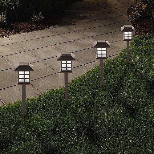 Solalite® von 8Weiß Led Solar Kutsche Oriental Style Laterne Garten Weg oder Grenze dem Spiel Lichter