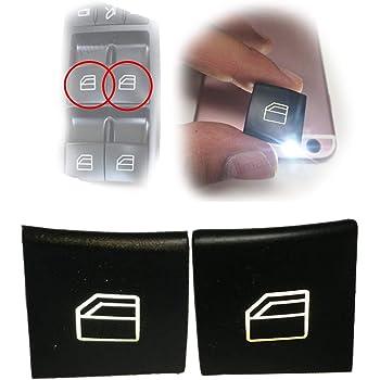 Commutateur Vitres /électrique Bouton Interrupteur de L/ève Vitres pour CLASSE A W169 CLASSE B W245 Bouton leve vitre c/ôt/é passager A2518200510