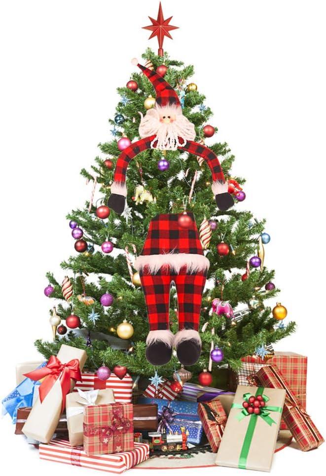 /árbol de Navidad ornamento mu/ñeca esp/íritu colgante /árbol decoraciones suministros Ringnigt mu/ñeca elfos de Navidad