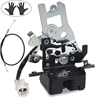 WMPHE Integrated Liftgate Lock Actuator for 2001-2007 Toyota Sequoia Liftgate Hatch Replace # 69301-0C010 64680-0C010 931-861 Tailgate Latch Assembly with Cable & Gloves