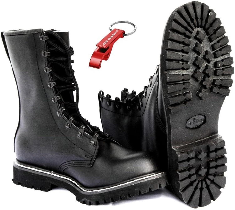 AOS-Outdoor SPRINGERSTIEFEL Kampfstiefel ARMY Stiefel Gr. Gr. Gr. 39-48 Schlüsselanhänger  574603