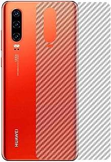 Sticker Film 3D Carbon Fibre Design (2PCS) Transparent Color to Protect Back Phone for HUAWEI P30 Lite / P30 / P30 Pro (P30)