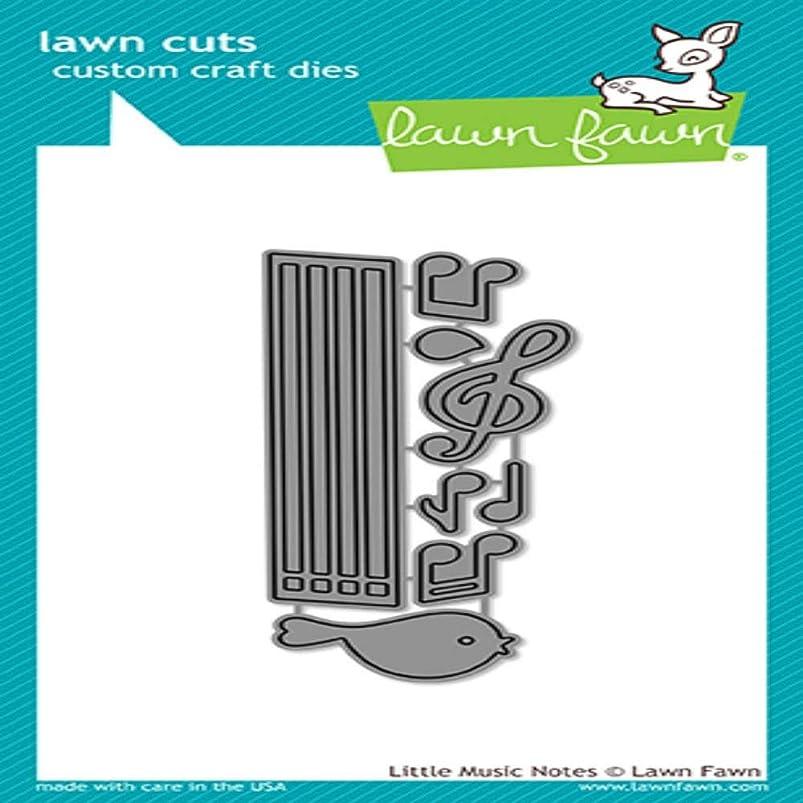 Lawn Cuts Custom Craft Die-little Music Notes ixselqsg303345