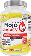 MOJOa Slim – Apple Cider Vinegar High Strength Capsules for Healthy Diet Weight Loss Blood Sugar Digestion Detox Support Natural Formula Money Back Guarantee Estimated Price : £ 34,00