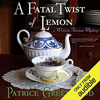 A Fatal Twist of Lemon audiobook cover art