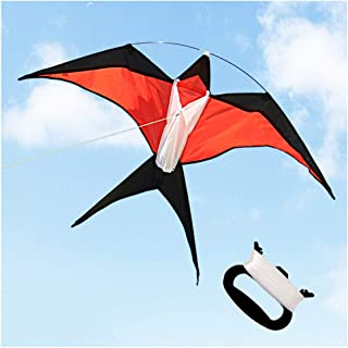 HAO CHEN Large Plane Kite for Kids and Adults, Easy Fly Kite for Outdoor Game,Activities,Beach Trip Great Gift to Kids Childhood Precious Memories