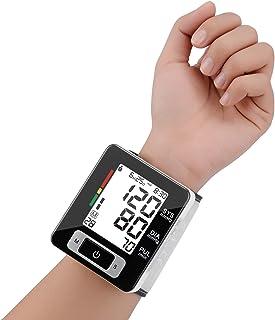 مانیتور فشار خون مچ دست به طور کامل اتوماتیک فشار خون دیجیتال کاف کاف FDA تصویب مانیتور برقی قابل حمل برقی با نمایشگر LCD و عملکرد ذخیره سازی حافظه برای 2 کاربر (سیاه ، مچ دست)