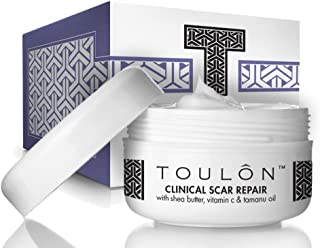 Scar Removal Cream to Best Remove Old & New Scars with Shea Butter, Vitamin C & E and Tamanu Oil