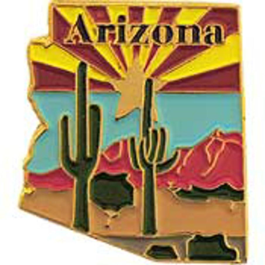 EagleEmblems P09203 PIN-Arizona (MAP) (1'')