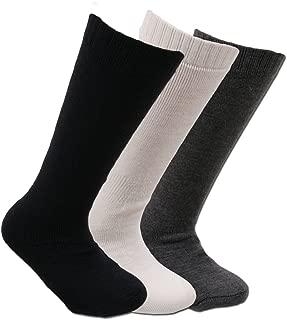 SIRRI Lot de 6 paires de chaussettes basses en coton stretch et respirantes pour enfants