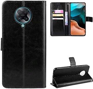 Luckyandery Mi Poco F2 Pro Wallet Case Stand,Mi Poco F2 Pro Flip Case Cover, Stand Case Folio Book Flip Cover Built-in Car...