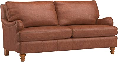 Amazon.com: Acanva Chesterfield Chenille Living Room Sofa ...