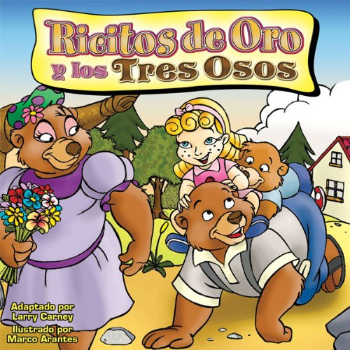 Ricitos do Oro y los tres Osos [Goldilocks and the Three Bears] audiobook cover art