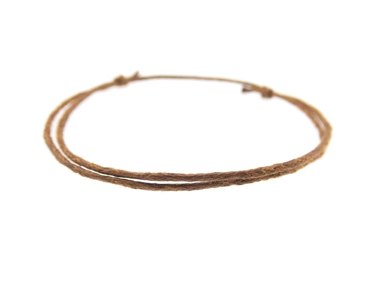 Surfer Bracelet, Nautical Minimalist Jewelry of Tiny Rope