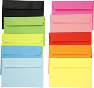 Sobres de colores, 10,5x15 cm, 120 gr, 50surtido - EMI Craft