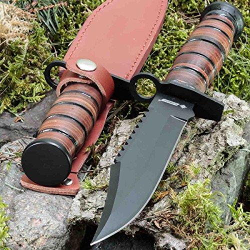 KanDar 2925 • FESTSTEHENDE Messer JAGDMESSER • Gesamtlänge: 303mm • FTM-de.