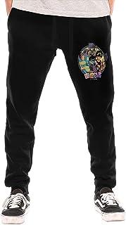 huatongxin Yu Yu Hakusho Men's Breathable Casual Cozy Long Pantalón de chándals Workout Pants