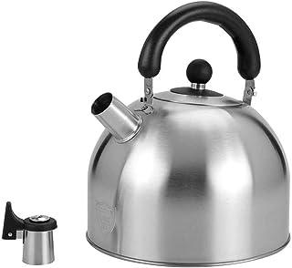 耐久性のある家庭用ケトル 炉床灶台茶壶 304不锈钢 获得可更换的出水嘴 可沏茶、咖啡和熱水 (Size : 6L)