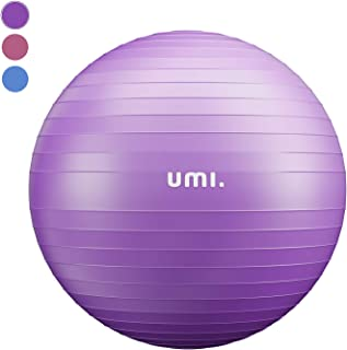 comprar comparacion UMI. by Amazon -Pelota de Ejercicio Gym Ball para Fitness, Yoga, Pilates, Embarazo y Sentarse, Talla M L XL (48-75cm)