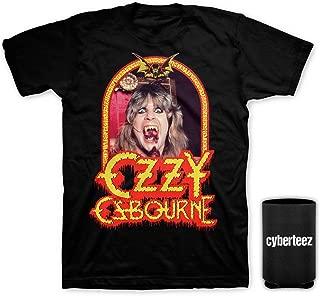 Ozzy Osbourne Speak of The Devil Vintage T-Shirt + Coolie (Sizes S-3XL)