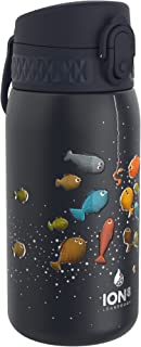 Ion8 Botella Agua Acero Inoxidable Termica Sin Fugas, 320ml, Pez
