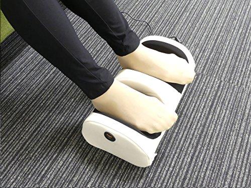 クロシオ足も~むマッサージ器脚用本格もみ玉ホワイト058379
