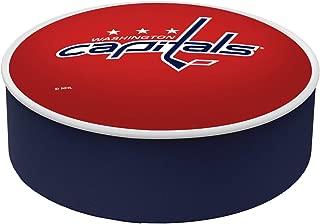 Washington Capitals HBS Red Vinyl Elastic Slip Over Bar Stool Seat Cushion Cover