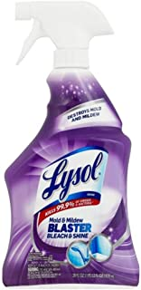 Lysol Mold & Mildew Foamer w. Bleach, Bathroom Cleaner Spray 28 oz (Pack of 5)