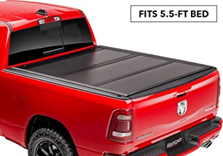 UnderCover Ultra Flex Hard Folding Truck Bed Tonneau Cover | UX42007 | fits 2007-2019 Toyota Tundra 5.5ft Short Bed Crew MAX