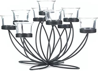 Home Decor Iron Bloom Candle Centerpiece