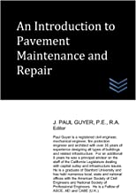 An Introduction to Pavement Maintenance and Repair (Street and Highway Engineering)