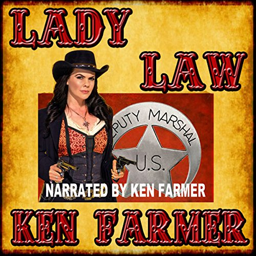 Lady Law audiobook cover art