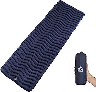 Unigear Esterilla Inflable Portatíl Colchón de Aire para Camping Acampa Colchones Hinchable Utraligero y Resistente Cama Colchoneta de Dormir al Aire Libre Viaje Playa