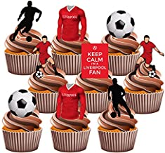 Amazon Co Uk Liverpool Cake Toppers