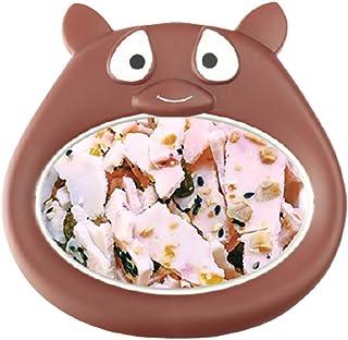 Mini Ice Cream Maker,Cartoon Fried Ice Machine, Fried Yogurt Machine Pan Home Stir Yogurt Machine/Food Grade Aluminum Pan,...