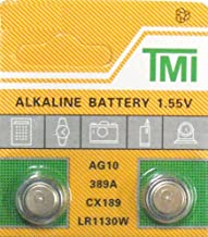 2 pack AG10 189 389 LR54 LR1130 Alklaine Button cell Battery