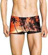 S//M//L//XL MERICAL Fashion Men Breathable Trunks Pants Beach Print Running Swimming UnderwearMens Boxer Quick-Drying Color Swim Shorts