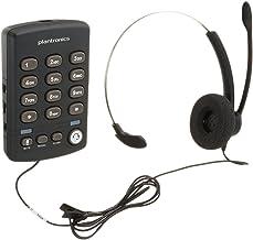 Plantronics Practica T110 Standard Phone, Black - 204549-01
