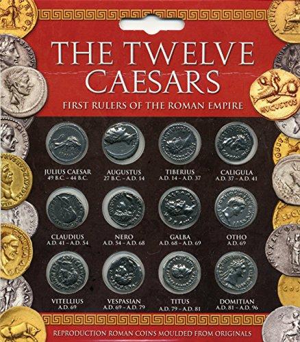 Ensemble de Pièces Les 12 Césars