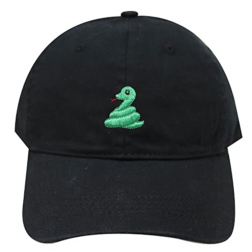 c4bf256b162a5 City Hunter C104 Cute Snake Emoji Cotton Baseball Caps 26 Colors