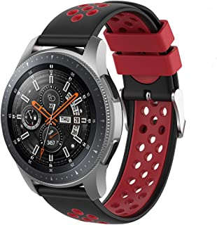 comprar comparacion Songsier Compatible con Correa Gear S3 Frontier/Galaxy Watch 3 45mm/Galaxy Watch 46mm/Gear 2 /Huawei Watch GT2 46mm/Watch ...