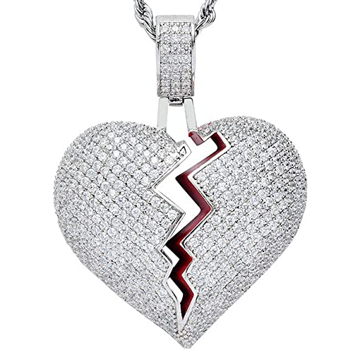 dcc239ee4277c Iced Out Pendant Chains: Amazon.com